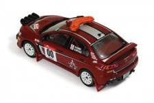 MITSUBISHI LANCER Evo X Nº00 H.Ichino-H.Miyoshi Rally Japan Safety Car 2008