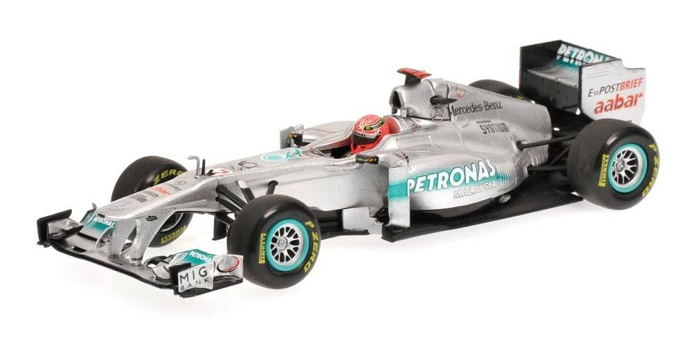 Mercedes Gp Petronas Mgp W02 N 186 7 F1 2011 Michael