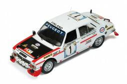 PEUGEOT 504 - nº1 Rally Safari 1975 - T. Makinen / H. Liddon