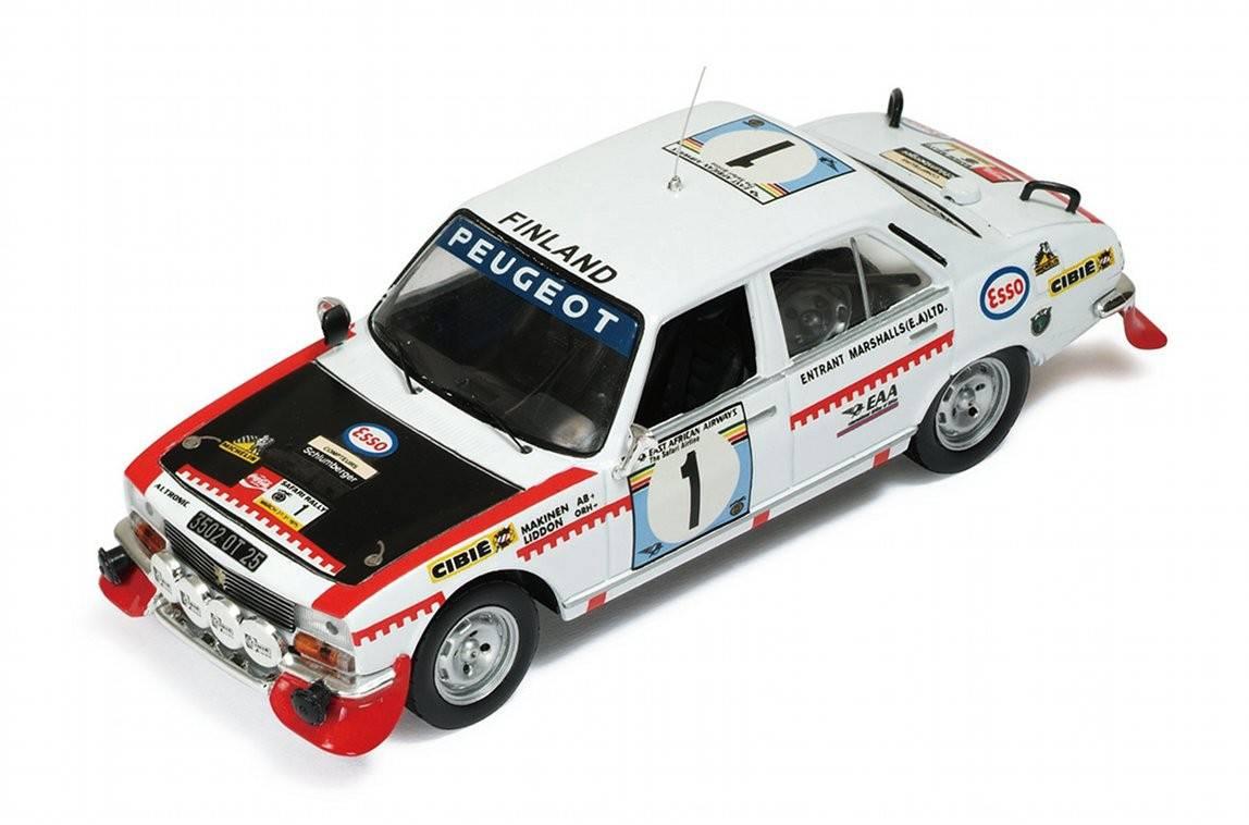 Peugeot 504 n 1 rally safari 1975 t makinen h for Cascos motogp altaya