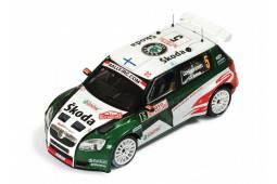 SKODA Fabia S2000 - nº5 - 2º Rally Monte Carlo 2010 - J. Hanninen / M. Markkula