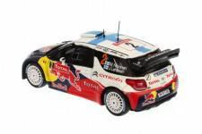 CITROËN DS3 WRC - nº2 - 4º Rally Monte Carlo 2012 - M. Hirvonen - J. Lehtinen