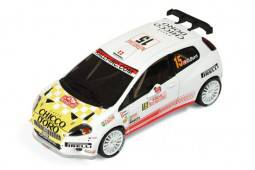 Fiat Abarth Grande Punto S2000O Burri-F.Gordon 7º en Rally MC 2009