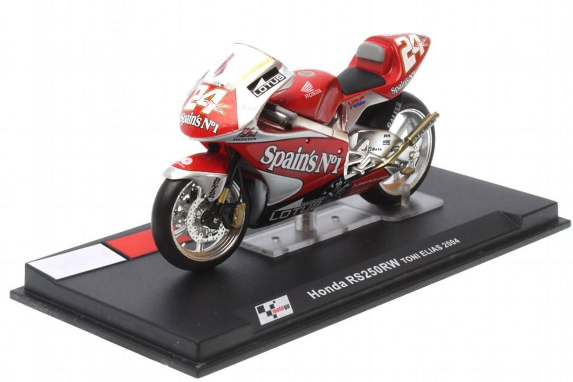 Honda rs250rw n 24 250cc 2004 toni elias racing for Cascos motogp altaya