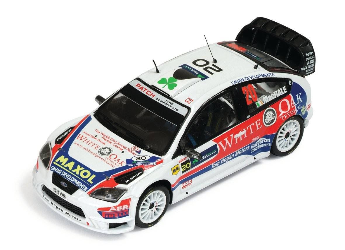Ford focus wrc n 20 a machale k duffy 11 rally for Cascos motogp altaya