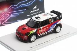 MINI JOHN COOPER WRC - nº52 - 7º Rally Monte Carlo 2012 - P. Campana / S. De Castelli