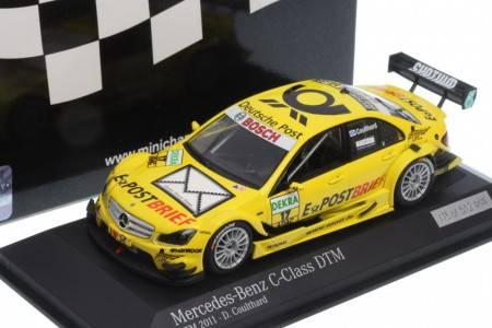 MERCEDES C-Class AMG-Mercedes - nº17 DTM 2011 - David Coulthard