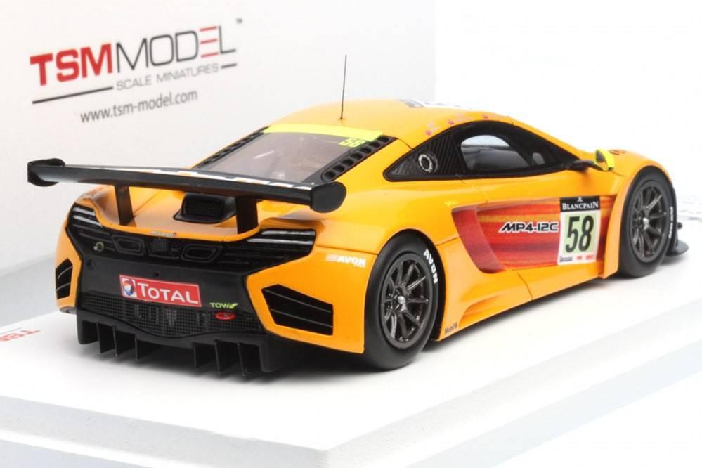 McLaren MP4-12C GT3 - nº58 24 horas de Spa 2011 - R. Bell / C ...