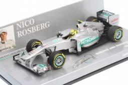 MERCEDES AMG Petronas F1 Team Showcar 2012 - nº8 Nico Rosberg - EDICION LIMITADA 1,008 pcs