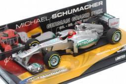MERCEDES AMG Petronas F1 Team Showcar 2012 - nº7 Michael Schumacher - Edición GP de Alemania Hockenheimring - ED. LMTD 1,000 pcs