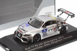 AUDI TT RS - nº125 24h Nurburgring 2011 - Ammermüller / Biela / Klingmann /Tomczyk