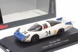 PORSCHE 908 - No.34 24h Le Mans 1968 - J. Buzzetta / P. Scooter - EDICION LIMITADA 1,000 pcs