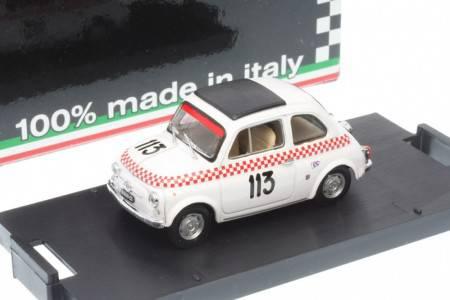 FIAT Giannini 500TV - No.113  Vº Trofeo Val Camonica 1969 - Beppe Dosi