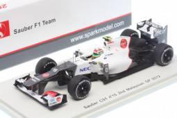 SAUBER C31 - No.15 - 2º GP F1 Malasia 2012 - Sergio Perez