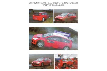 Citröen C4 WRC Cris Atkinson - Rautenbach Rally Ireland 2009