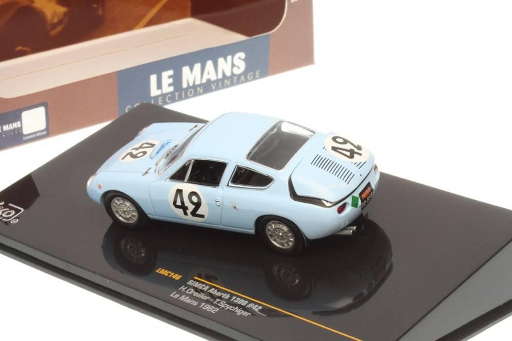 t oreiller SIMCA Abarth 1300   No.42 Le Mans 1962   H. Oreiller / T  t oreiller