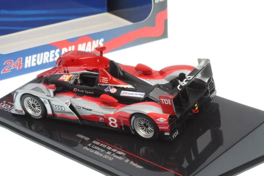 Audi R15 Tdi Lmp1 No 8 2nd Le Mans 2010 A Lotterer