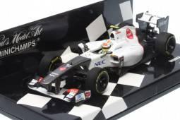 "SAUBER F1 Team ""Showcar"" 2012 - Sergio Pérez"