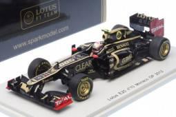 LOTUS E20 - No.10 GP F1 Monaco 2012 - Romain Grosjean