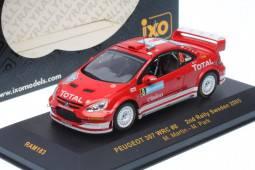 PEUGEOT 307 WRC - No.8 2º Rally Suecia  2005 - M. Martin / M. Park