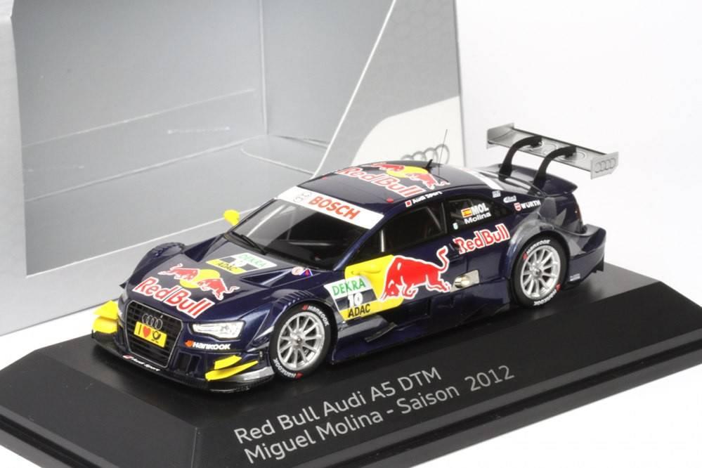 Audi a5 red bull dtm 2012 miguel molina audi for Cascos motogp altaya