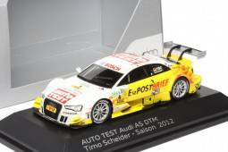 "AUDI A5 Auto Test - No.4 DTM 2012 - Timo Scheider ""Audi collection"""