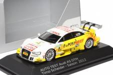 "AUDI A5 Auto Test - No.4 DTM 2012 - Timo Scheider ""Audi collection"""