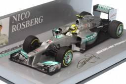 MERCEDES AMG Petronas F1 Team W03 - No.8 F1 2012 - Nico Rosberg