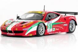 FERRARI 458 Italia GT2 GTE PRO - No.51 24h Le Mans 2012 AF Corse - Fisichella / Bruni / VIlander - Ed. Limitada 150 pcs