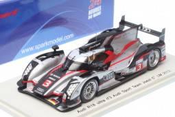 AUDI R18 ultra Audi Sport Team Joest - No.3 5º Le Mans 2012 - M. Gene / R. Dumas / L. Duval