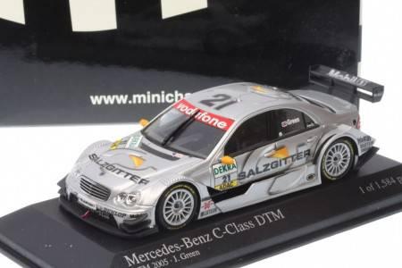 MERCEDES-Benz C-Class - No.2 DTM 2005 - J. Green - EDICION LIMITADA 1.584 pcs