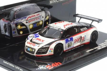 AUDI R8 LMS Team Phoenix Racing - No.97 24h ADAC Nürgurgring 2010 - Ludwig / Rostek / Bronzel / Winkelhock
