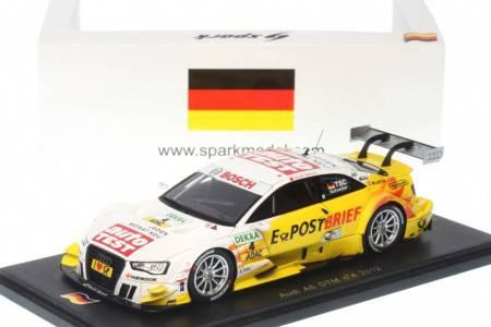 AUDI A5 - No.4 DTM 2012 - Timo Scheider - EDICION LIMITADA 300 pcs Numeradas
