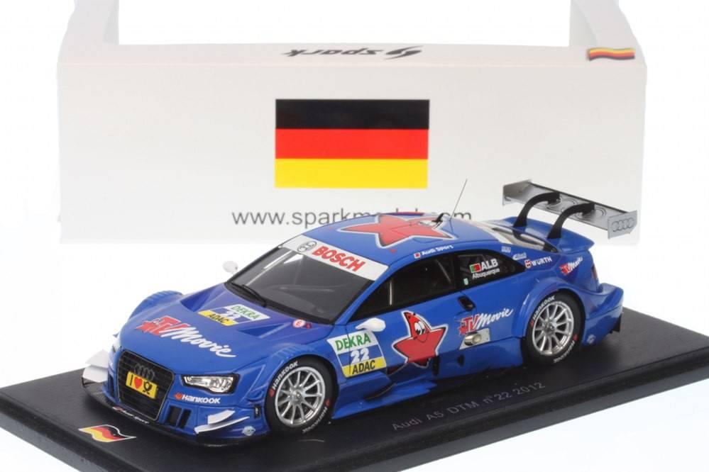 Audi a5 dtm 2012 filipe albuquerque edicion for Cascos motogp altaya
