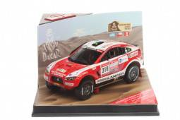 MITSUBISHI Racing Lancer - No.310 Rally Dakar 2012 - G. Spinelli / H. Youssef - EDICION LIMITADA 996 pcs