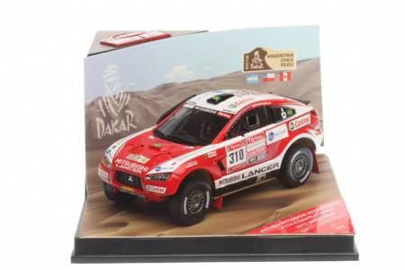 MITSUBISHI Racing Lancer - No.310 Rally Dakar 2012 - G. Spinelli / H. Youssef - EDICION LIMITADA 996 pcs
