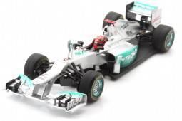 MERCEDES AMG W03 No.7 GP F1 Monaco 2012 - Michael Schumacher - Última participación en Mónca de Schumacher
