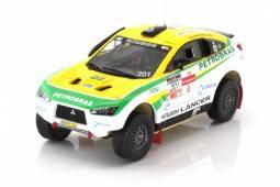 MITSUBISHI Lancer Racing - No.201 2º Rally dos Sertöes 2012 - G. Spinelli / H. Youssef