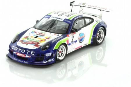 PORSCHE 997 GT3R - No.2 Ganador GT Tour 2012 - A. Beltoise / H. Hassid - EDICION LIMITADA 500 pcs