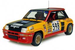RENAULT 5 Turbo - No.598 Rally Italia 1979 - G. Frequelin / J.C. Andrié - EDICION LIMITADA 1.500 pcs