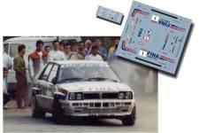 Lancia Delta Gustavo Trelles Príncipe de Asturias 1991 Asfalto