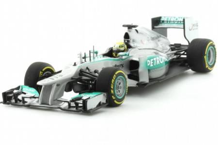 MERCEDES AMG  Petronas F1 Team - No.9 Showcar F1 2013 - Nico Rosberg - EDICON LIMITADA 504 pcs - Minichamps 1/43