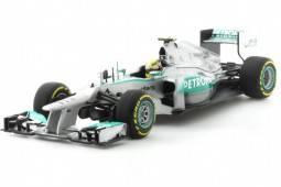 MERCEDES AMG  Petronas F1 Team - No.10 Showcar F1 2013 - Lewis Hamilton - EDICION LIMITADA 1,008 pcs - Minichamps 1/43