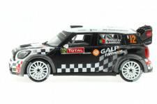 MINI John Cooper Works - No.12 Rally Monte Carlo 2012 - A. Araujo / A. Ramalho