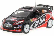 FORD Fiesta RS WRC - No.10 Rally Monte Carlo 2012 - H. Solberg / I. Minor - Ixo 1/43