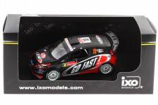FORD Fiesta RS WRC - No.10 Rally Monte Carlo 2012 - H. Solberg / I. Minor - Ixo 1/43