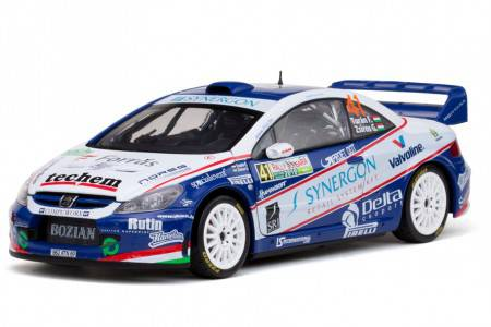 PEUGEOT 307 WRC - No.41 Rally Bulgaria 2010 - F. Turan / G. Zsiros - Sunstar 1/18 - Limited ed. 680 pcs