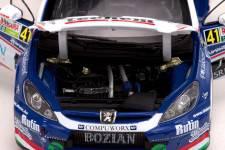 PEUGEOT 307 WRC - No.41 Rally Bulgaria 2010 - F. Turan / G. Zsiros - Sunstar 1/18 - Ed. Lmtd. 680 pcs