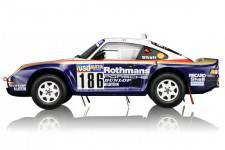 PORSCHE 959/50 - No.186 Ganador Rally Paris-Dakar 1986 - Medge / Lemoyne - True Scale Miniatures Escala 1/18