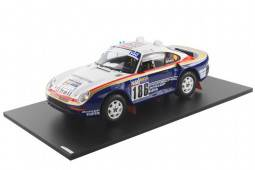 PORSCHE 959/50 - No.186 Ganador Rally Paris-Dakar 1986 - Medge / Lemoyne - True Scale Miniatures Escala 1/18